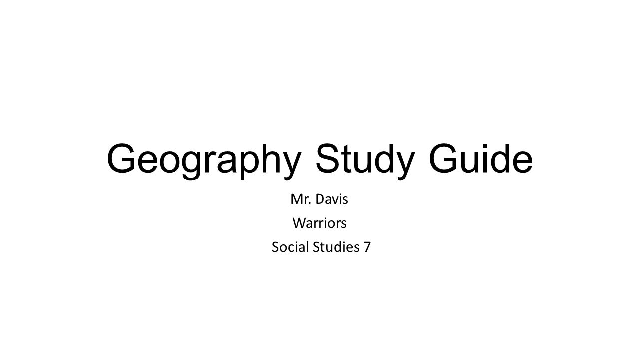 geography 2050 study guide Geog 2050 geography fall 2015 week 1 david lembergthis study guide was uploaded by an elite notetaker dr cristopher deckow at western michigan university on sep 30 2015 and has been viewed 144 times browse this and other geog 2050 study materials at studysoup.