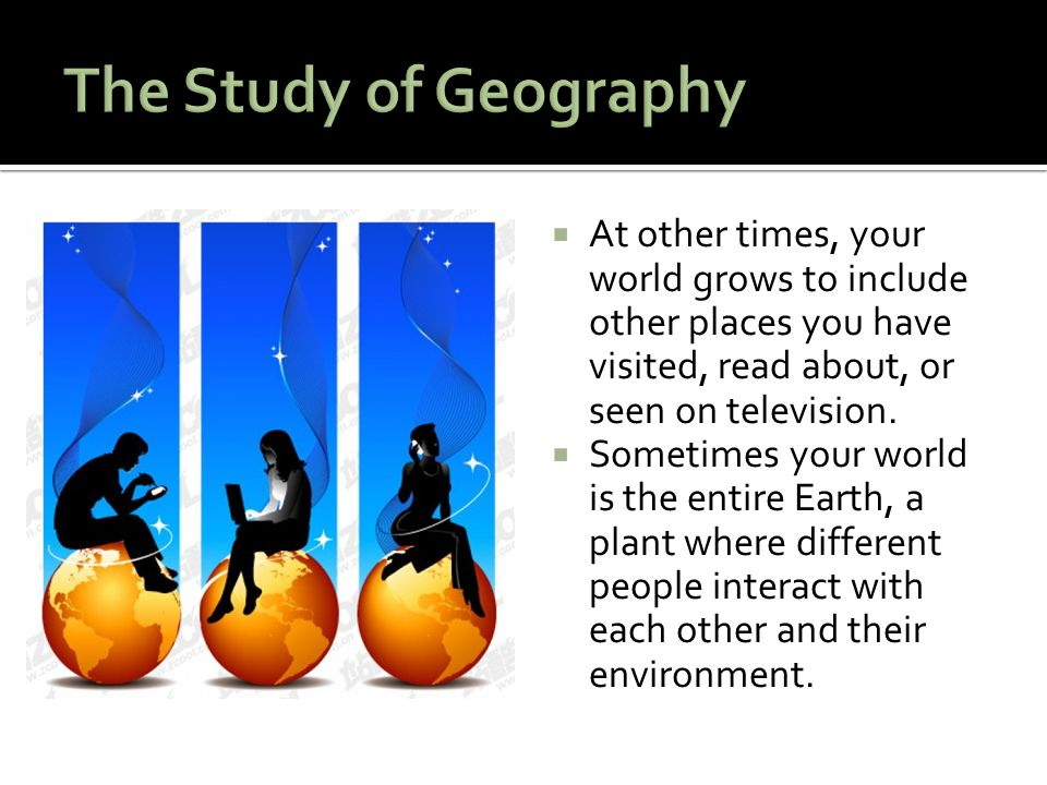 The study of human geography includes study of - Examveda