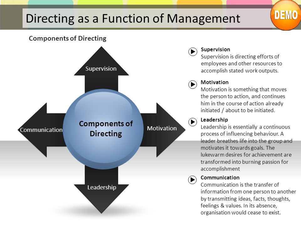 Directing as a Function of Management