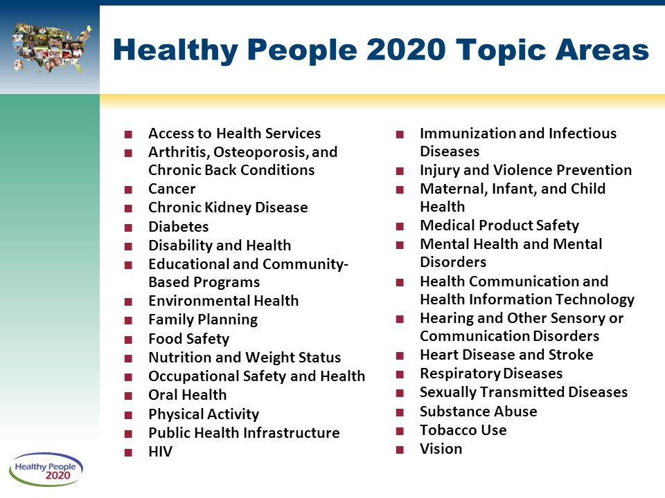 healthy people 2020 essay Healthy people 2020: understanding and improving of the goals and mission of healthy people 2020 and its a custom paper/essay which is 100%.