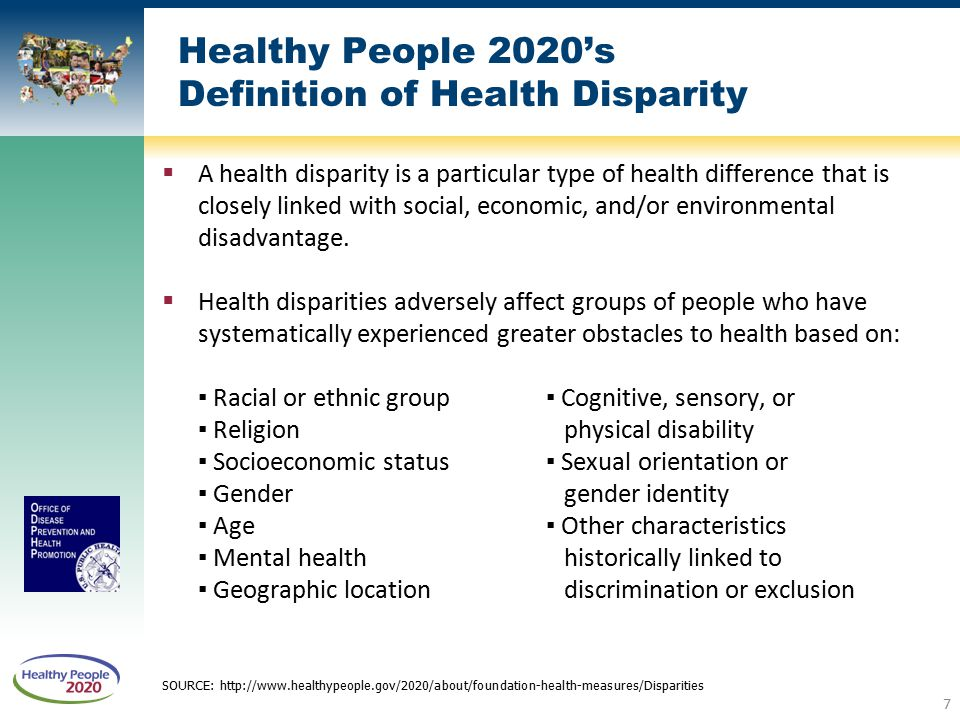 Healthy People 2020 Progress Review: Social Determinants of Health and Lesbian, Gay, Bisexual ...