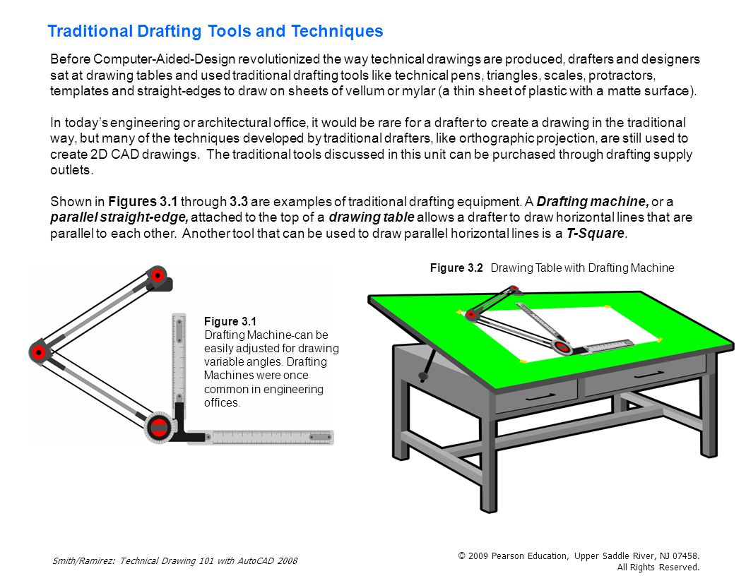 Traditional Drafting Tools And Techniques Ppt Download