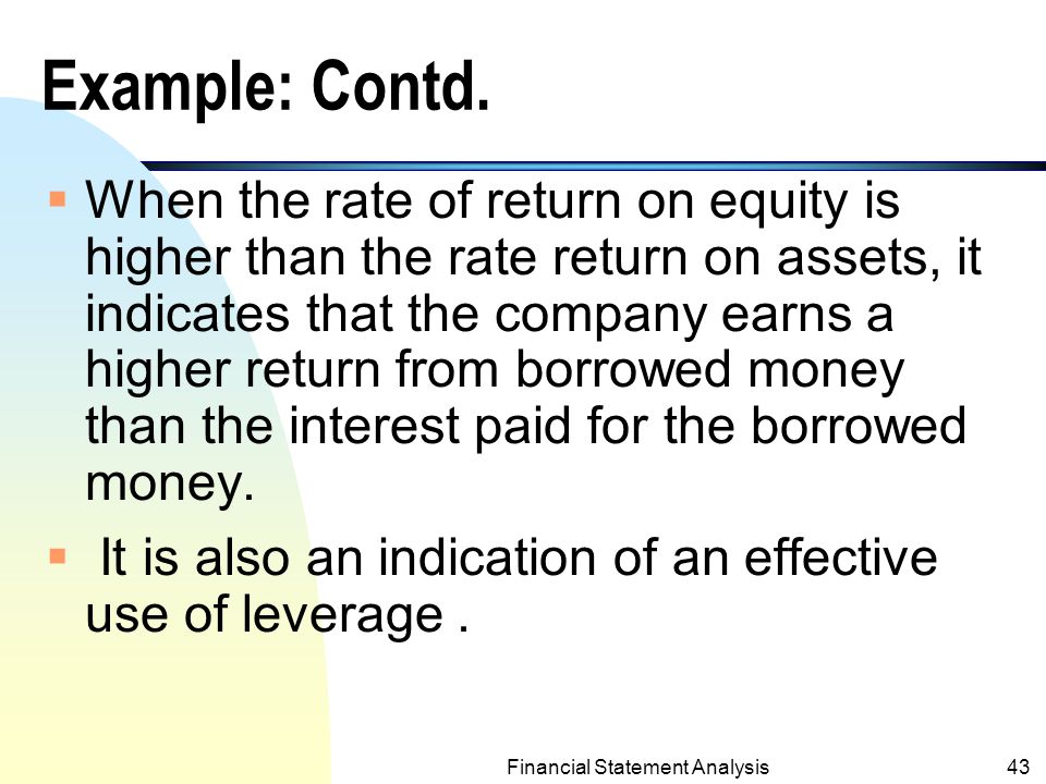 Financial Statement Analysis Ppt Video Online Download