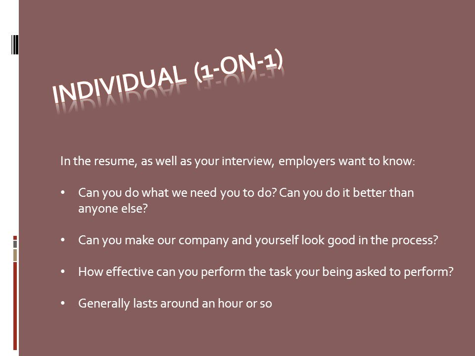 stunning what do employers want in a resume pictures simple