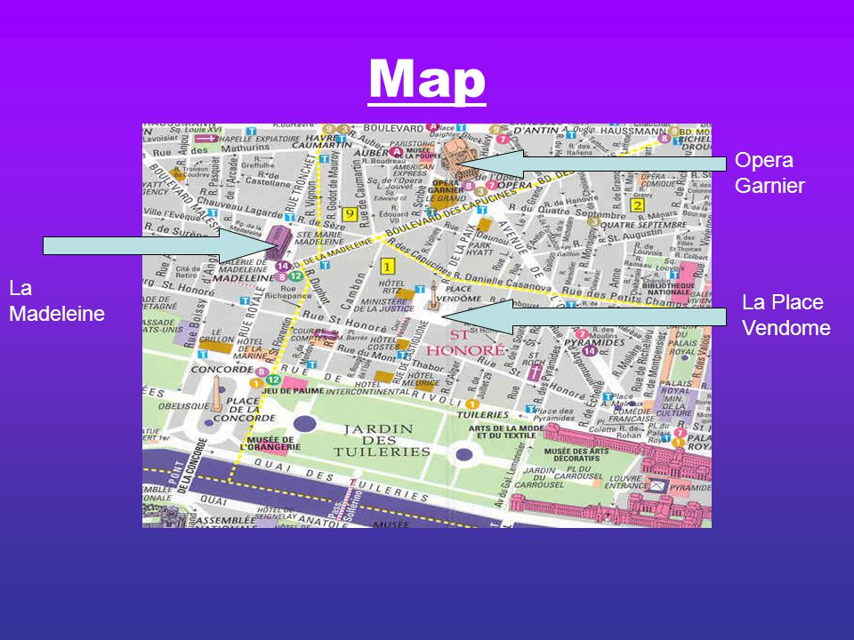 rue scribe maps