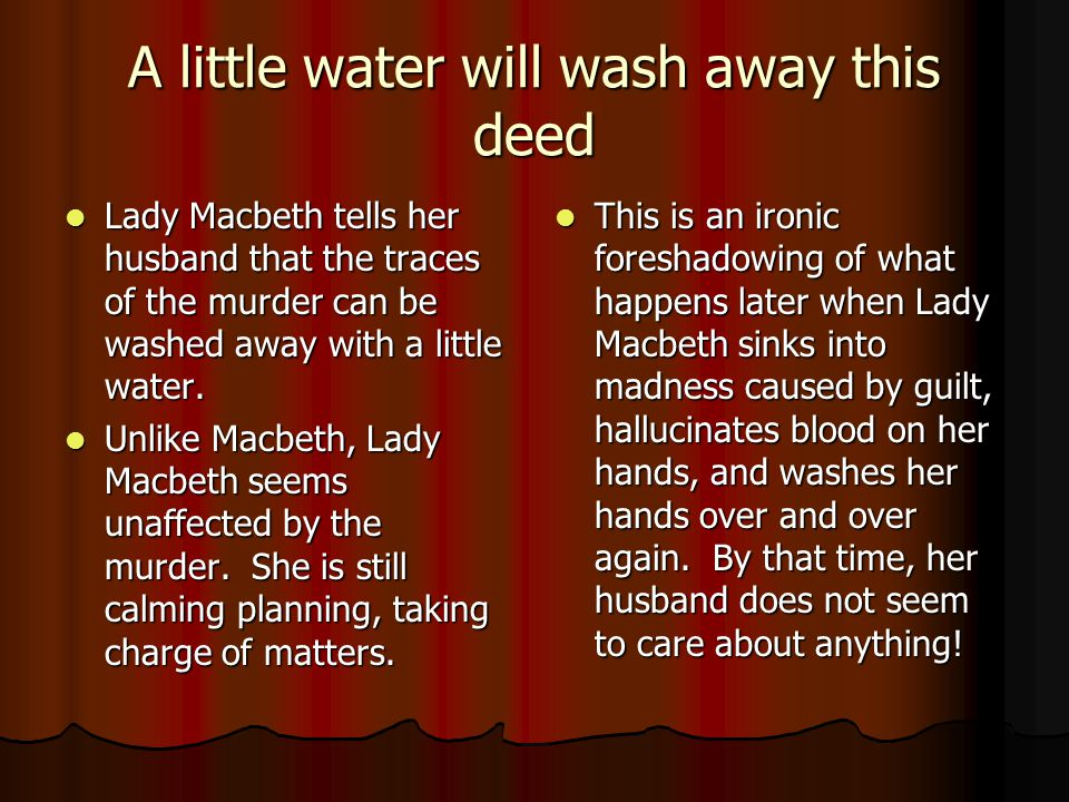 What are the main differences between Macbeth and Lady Macbeth?