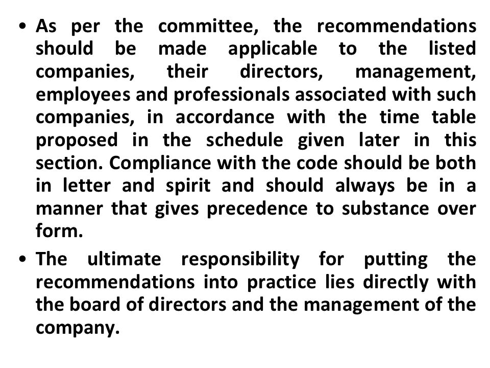corporate governance guidelines for insurance companies issued by irda