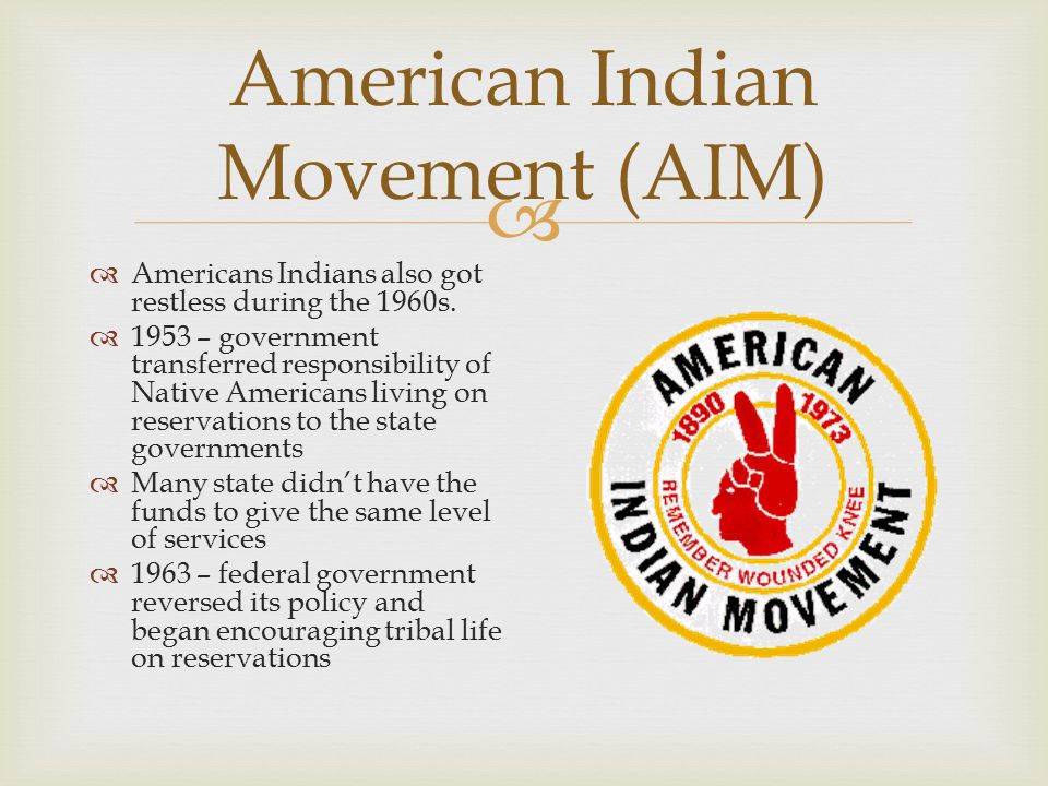 American Indian Movement (AIM)