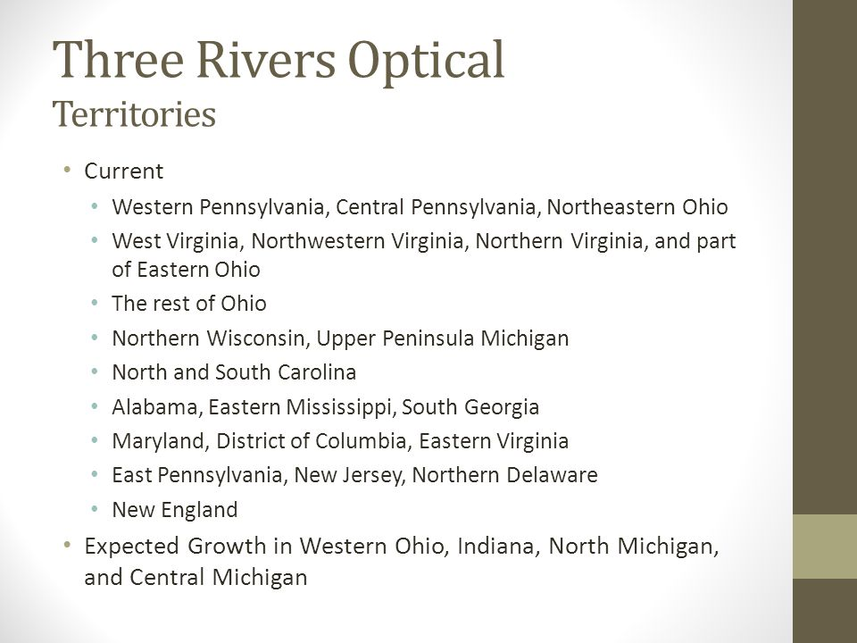 three rivers optical Hurricane delivery delays we are closely monitoring the conditions in the southeastern part of the country due to hurricane florence customers in this area may experience delays with orders.