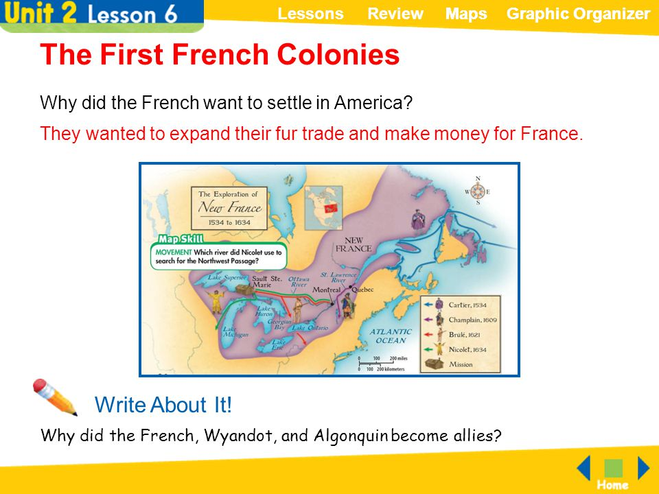 Why Did the French Come to America?