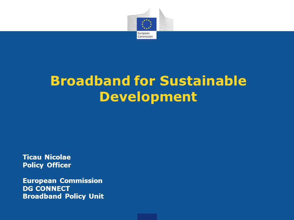Image Result For Broadband Commission For Sustainable Development