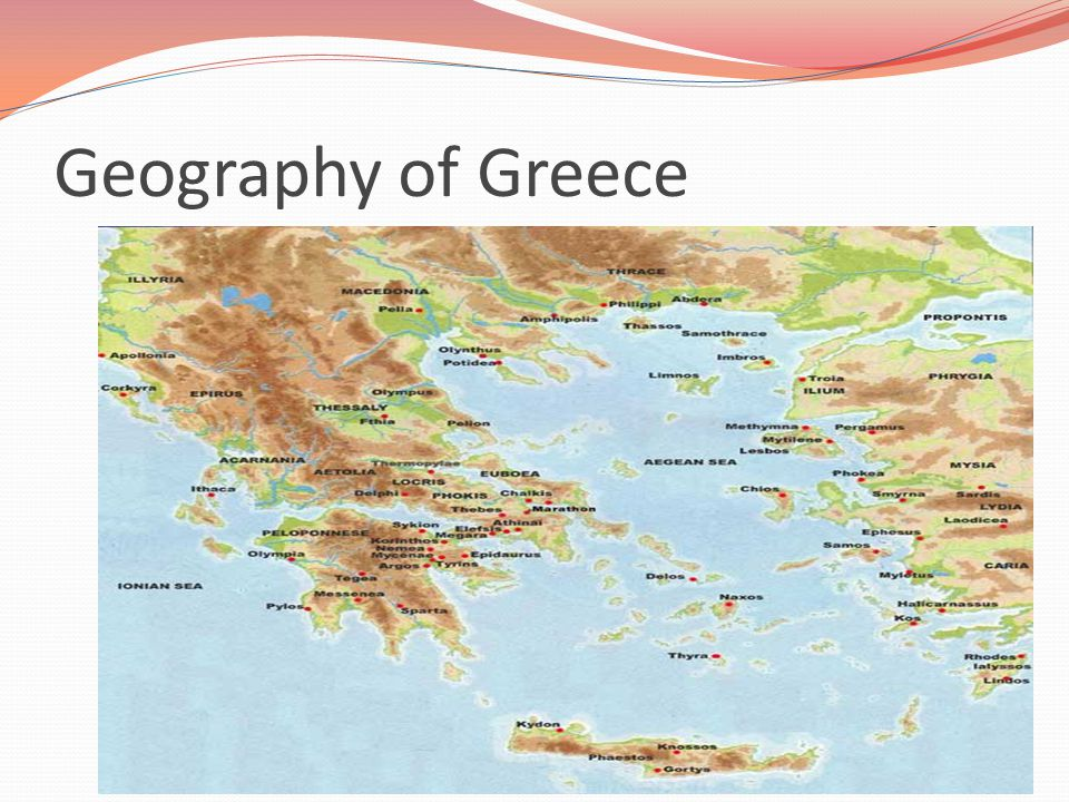 An overview of the geographic growth of ancient greece