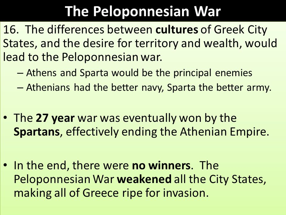 Historical Background to Greek Philosophy