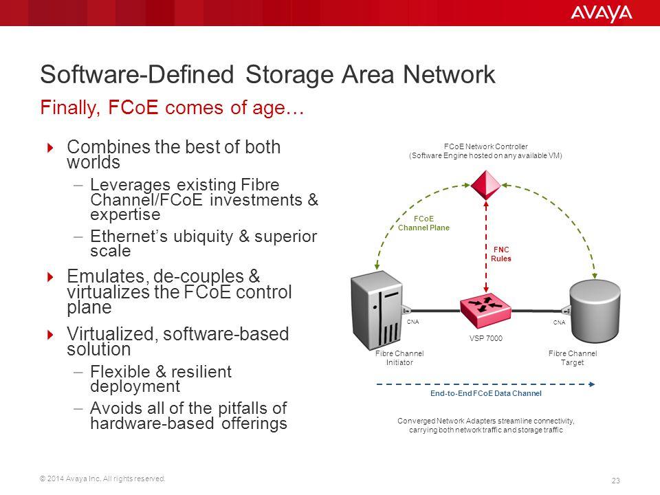 Software-Defined Storage Area Network