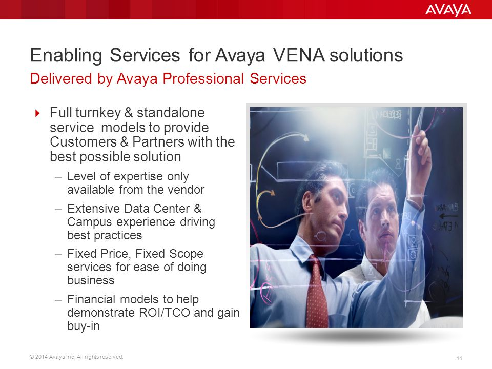 Enabling Services for Avaya VENA solutions