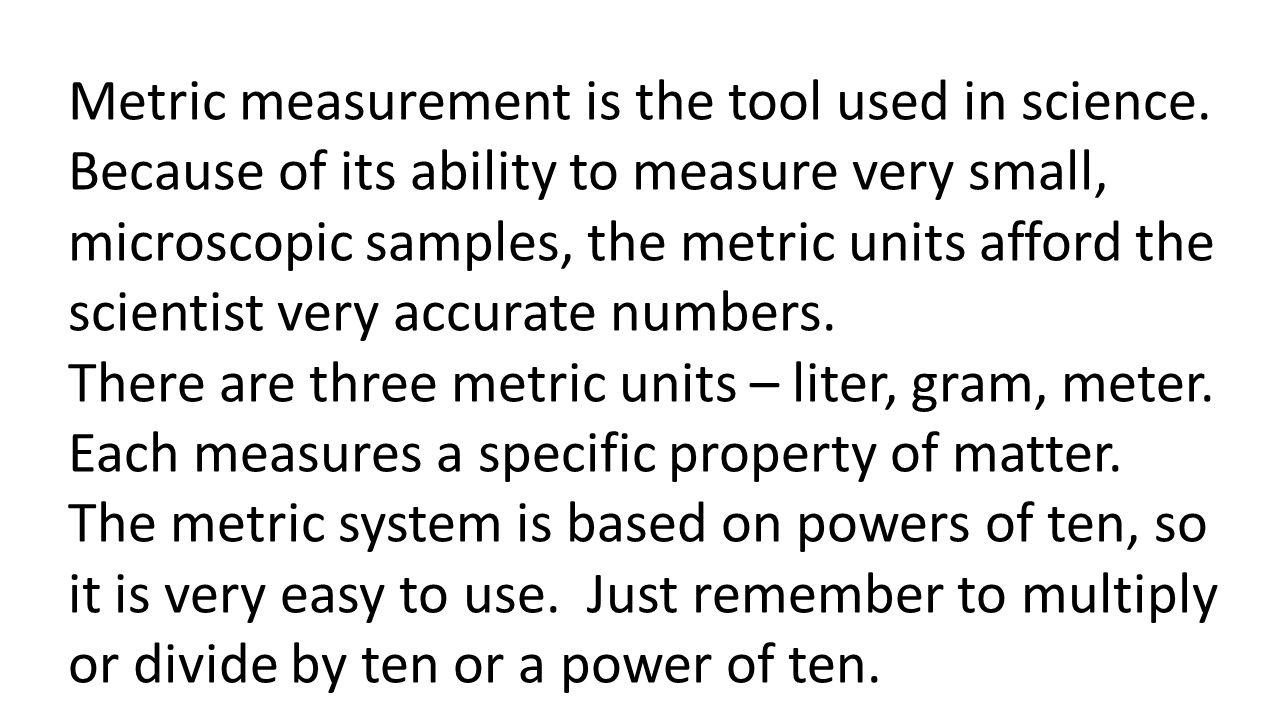 Measurements ppt download – Metrics and Measurement Worksheet