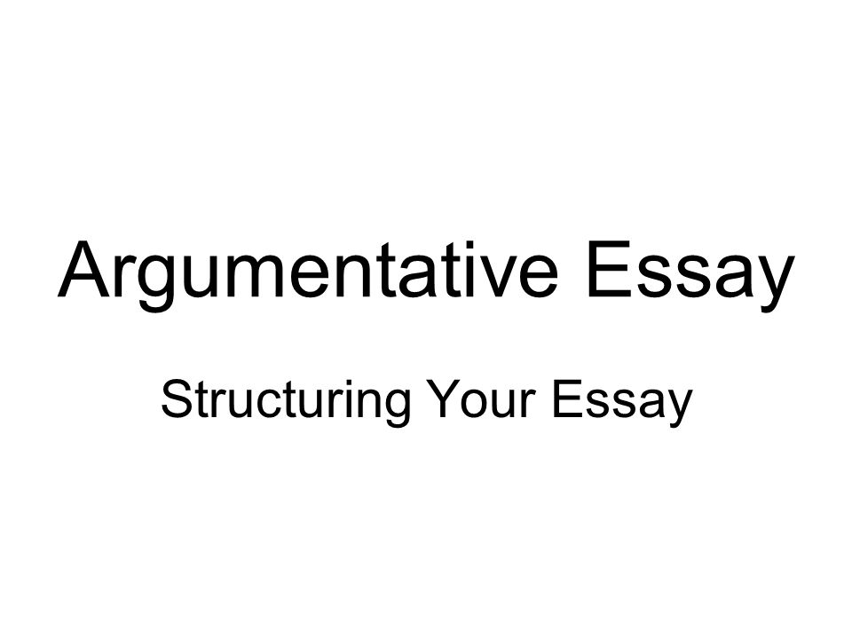 structuring your essay ppt  structuring your essay
