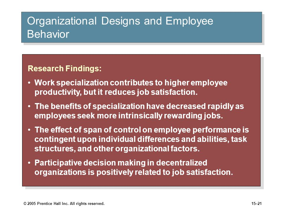 organizational behavior the employee whisperer Introverts and extroverts,  you'll get the most out of an introverted employee by giving them clear expectations and a  organizational psychologist and.