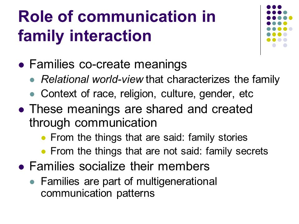 role of culture in communication Cross cultural communication in the workplace as canada becomes a multi-cultural society, it is  when considering the role of culture in an.