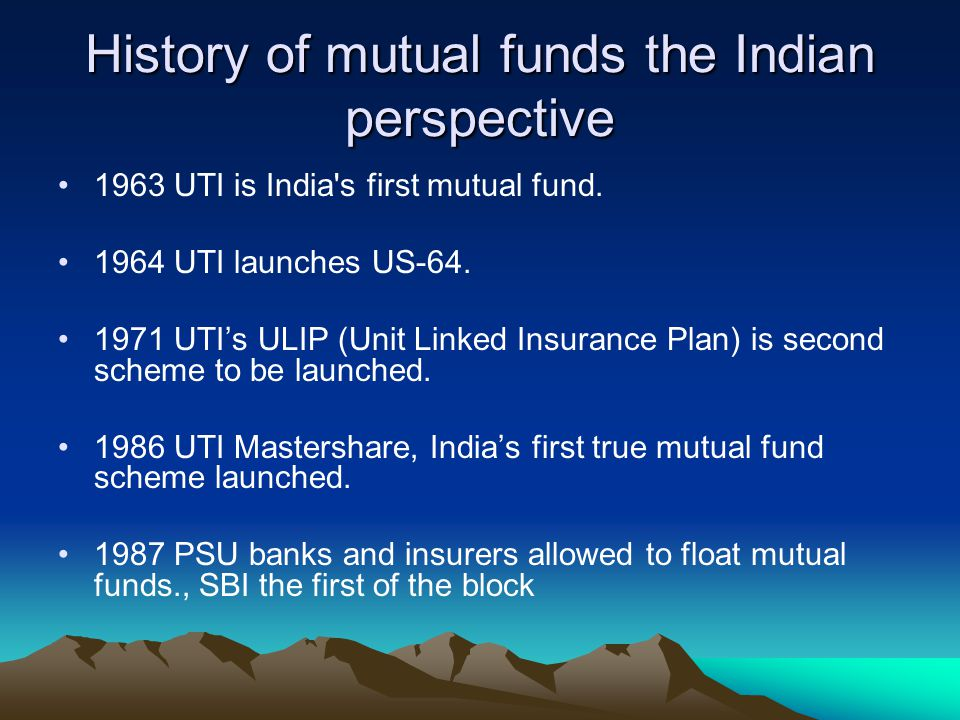 Mutual Funds Ppt Download