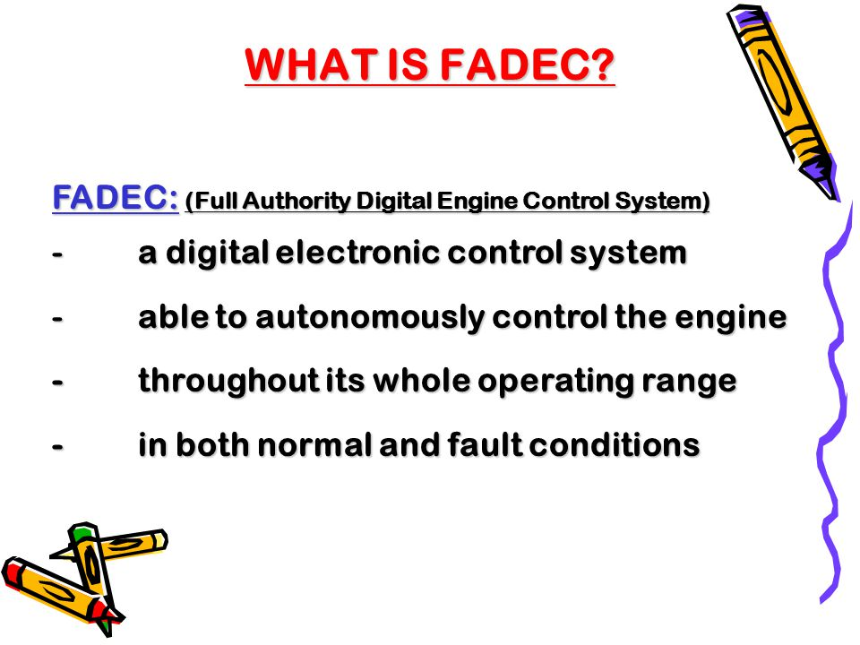 full authority digital electronic system Bae systems commercial aircraft solutions is the world leader in full authority digital engine control (fadec) system design, development, and support.