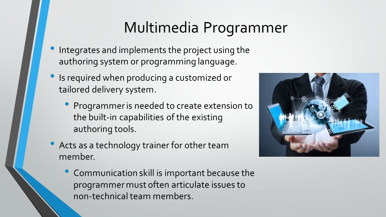 how to become a multimedia programmer