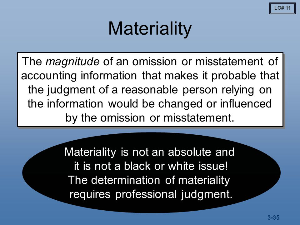 determination of planning materiality and tolerable misstatement This section provides general guidelines for determining planning materiality and  tolerable misstatement for audits performed by willis & adams the application.