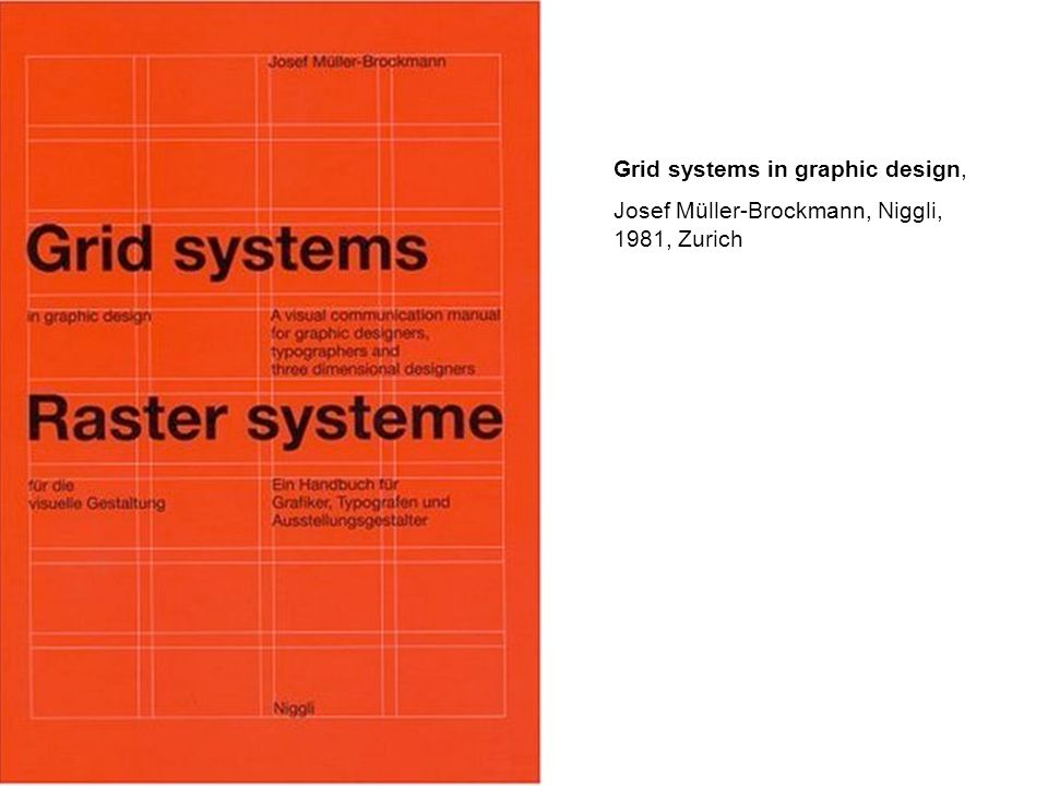 Grid systems in graphic design,