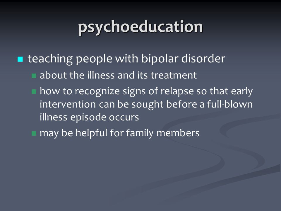 Psychoeducation and the family burden in schizophrenia: a randomized controlled trial
