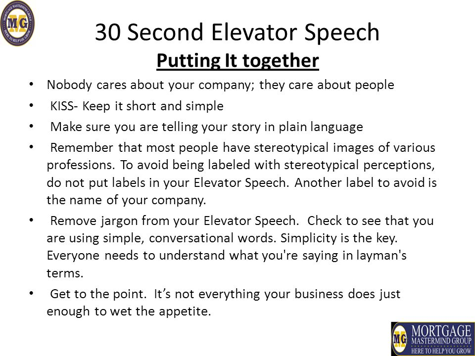 How to Write a Speech in 30 Minutes