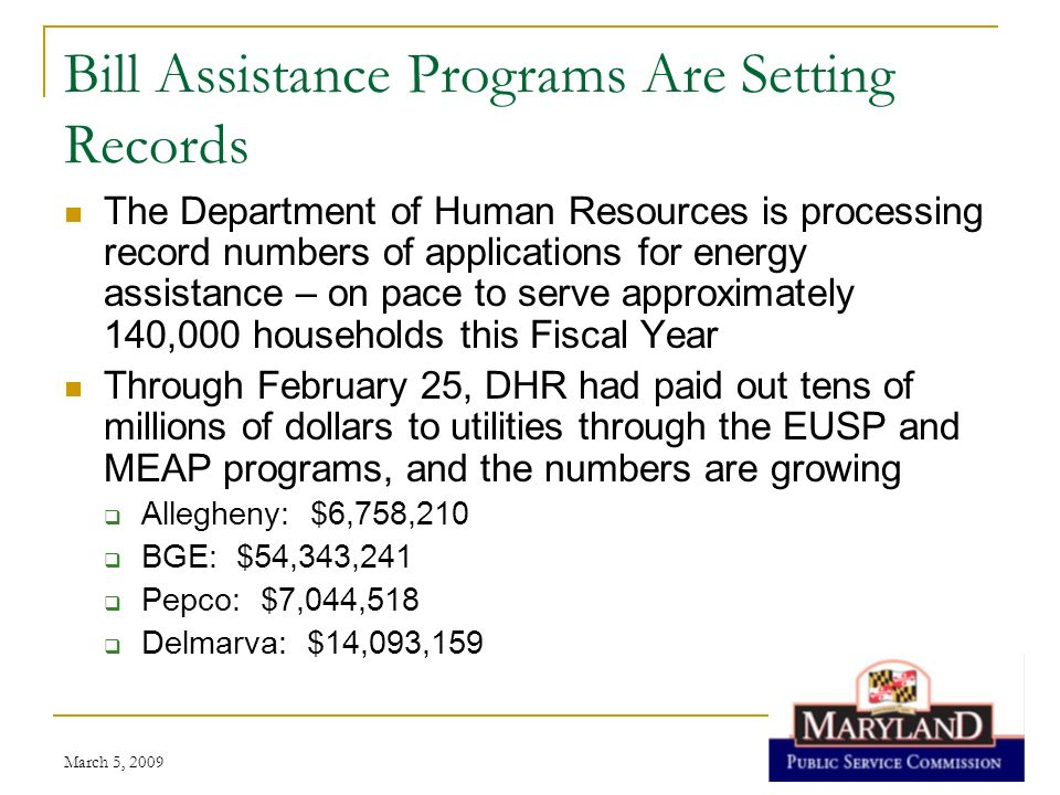 Bill Assistance Programs Are Setting Records