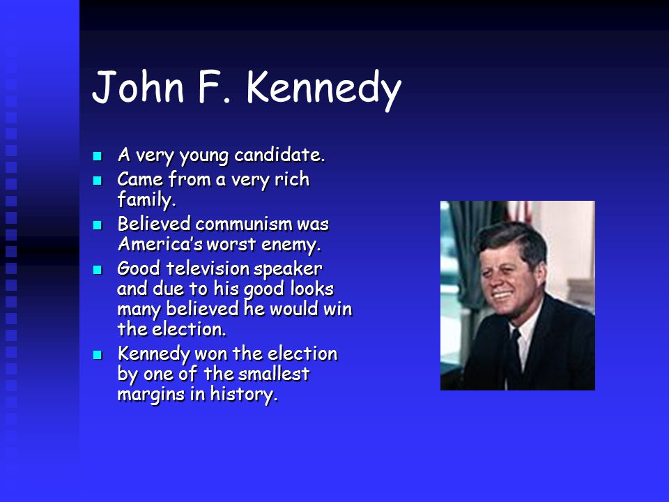 kennedys new frontier In those high offices he exerted an enormous influence on the nation's domestic and foreign affairs, first as the closest confidant of his brother, president john f kennedy, and then, after mr kennedy's assassination in 1963, as the immediate heir to his new frontier policies the kennedy name, which john had made.