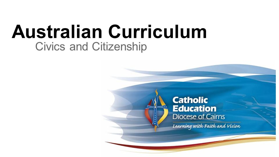 Outcomes Understand the way in which the Australian Curriculum has been structured in these learning areas.