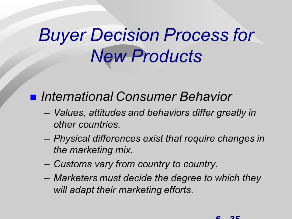 buying decision process perfume Consumer buying behavior consumer buying behavior is the study of an individual or a household that purchases products for personal consumption the process of buying behavior is shown in the following figure −.