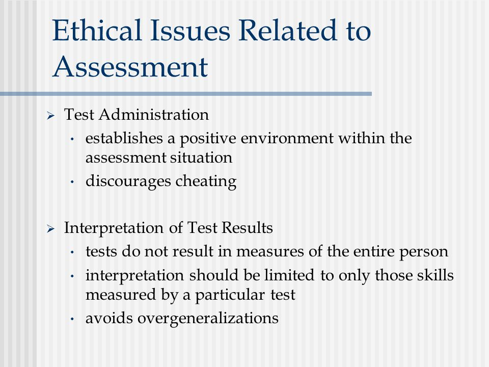 ethical implications of results only work environment Making good ethical decisions requires a trained sensitivity to ethical issues and a practiced method for exploring the ethical aspects of a decision and weighing the considerations that should impact our choice of a course of action.