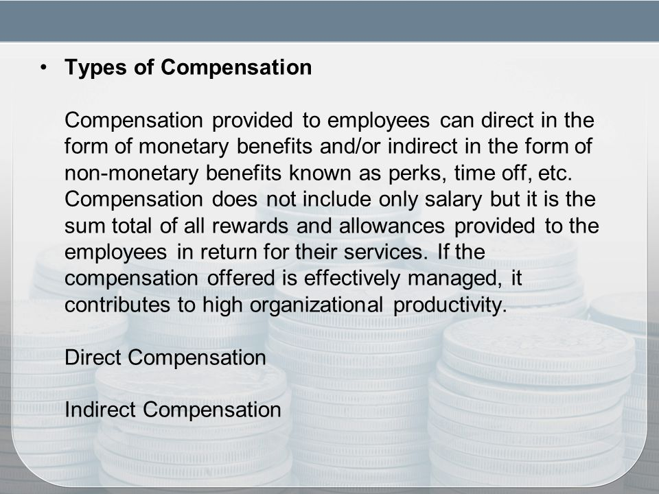compensation essay Compensation and benefits in the twenty-first century  abstract team platinum will explore compensation and benefits in the 21st century any review of total compensation must include the crucial areas of health and retirement benefits and financial compensation, as well as discuss the implications of pivotal changes in the market and.