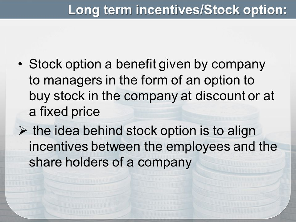 Foreign company incentive stock options