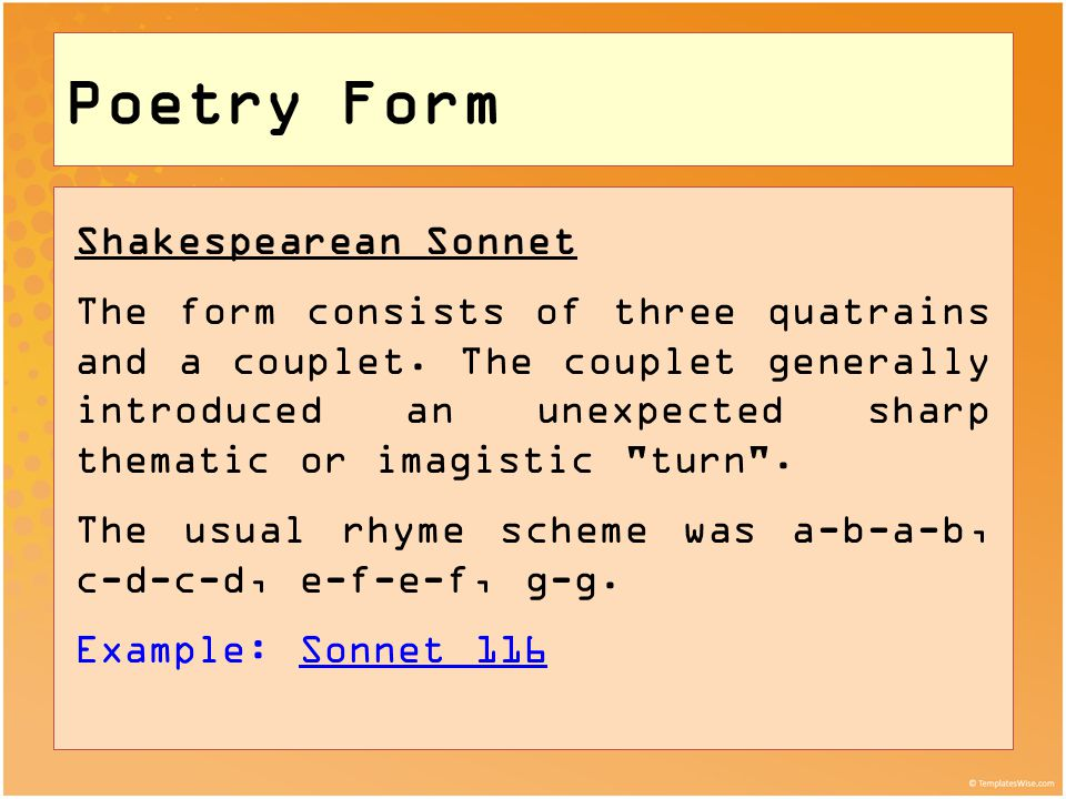 The Sonnet: Poetic Form | Academy of American Poets