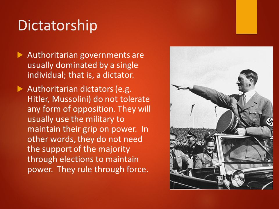 an introduction to totalitarianism an extreme form of authoritarian government Totalitarianism totalitarianism is an extension and intensifying of authoritarianism a totalitarian system is necessarily authoritarian, but it goes much further what distinguishes a system as totalitarian is how it uses its monopoly of power.