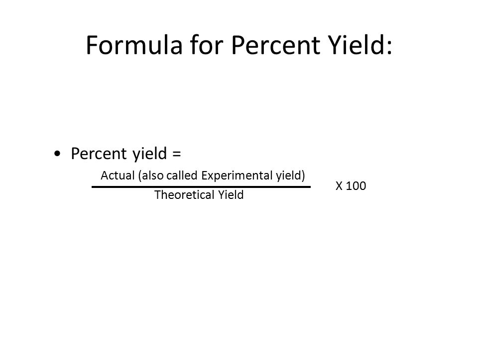 What Is The Equation For Percent Yield Jennarocca – Percent Yield Worksheet