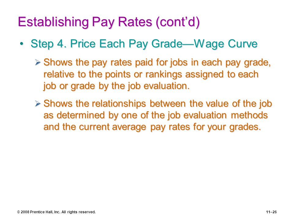 Basic Strategic Pay Policies