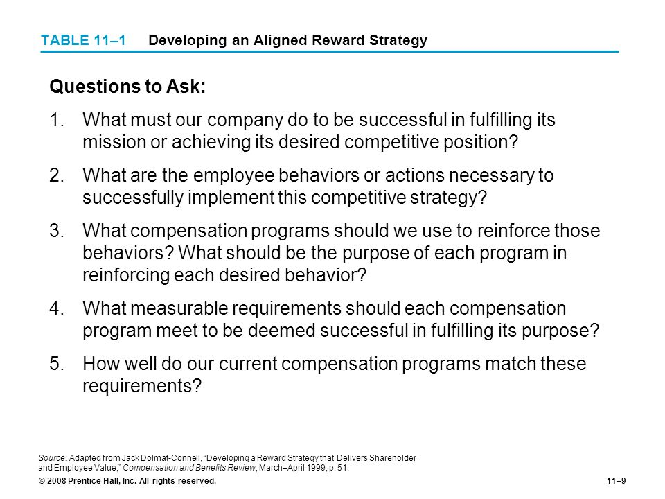 developing a reward strategy that delivers shareholder and employee value Why shareholder value and ever-greater customer value, to employees in the form of and adapts its strategy to deliver long-term shareholder.