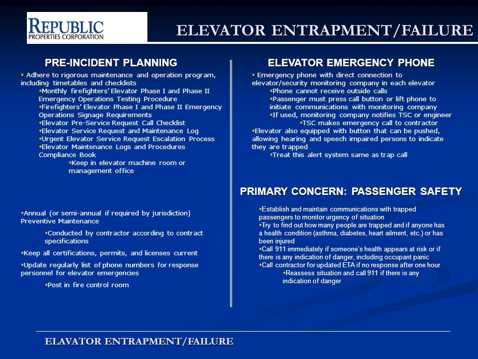 Emergency Event Training Ppt Download