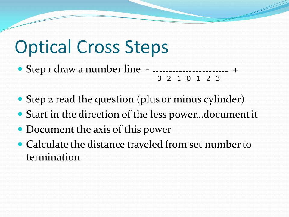 Line Optical Questions : Optometric math lynn lawrence cpot ppt video online