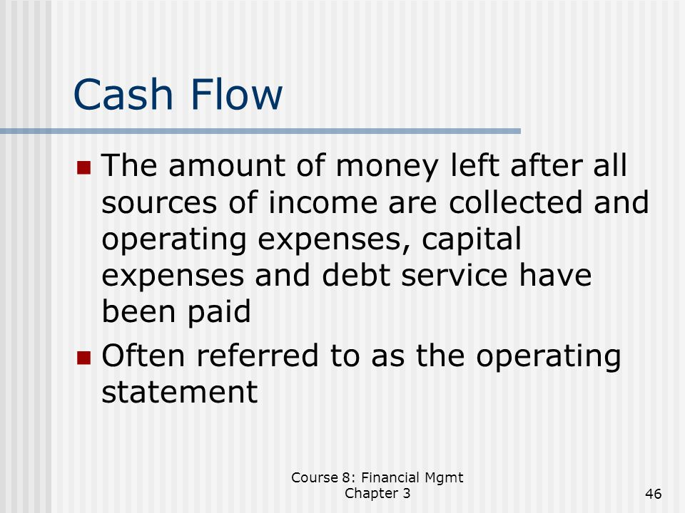 financial mgmt chapter 3 quiz Chapter 4 – financial management 4416 research, development, test and explain the importance of proper financial management within the supships and.