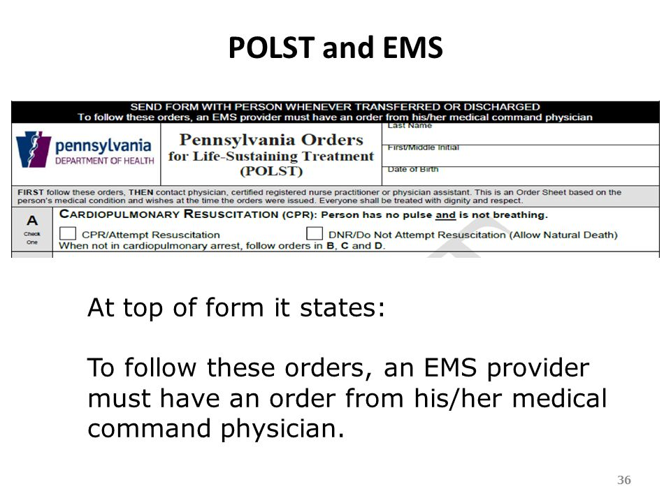Dnr Medical Form. Orders From A Medical Command Physician