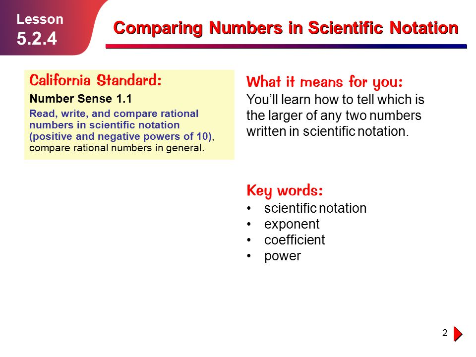 how to write scientific notation