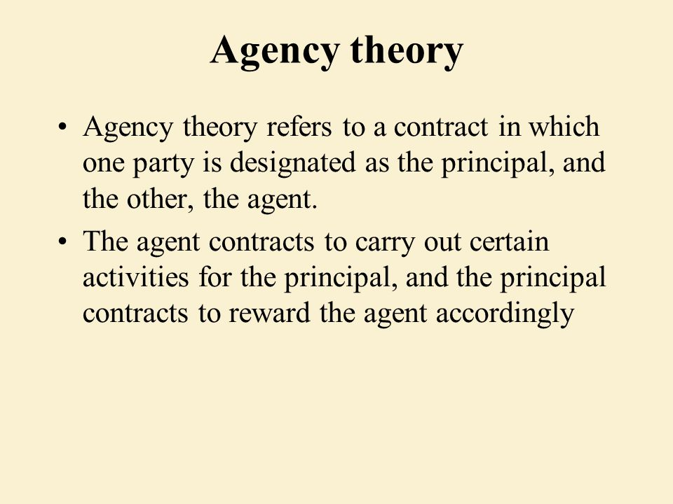 differences and similiarities between agency theory Distinction/ difference between bailment and agency  distinction between bailment and agency : no bailment  agency 1  'agency' is the legal relationship between an agent and principal to bring the principal into legal relationship with the third party  in the whole range of legal theory, there is no conception more difficult.