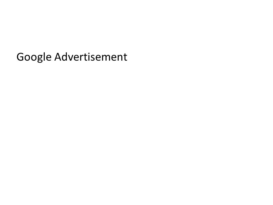 Google Advertisement