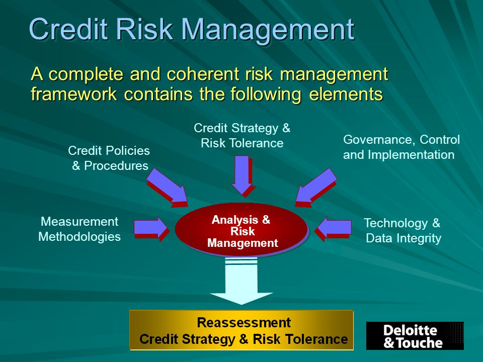 dissertation on credit risk management
